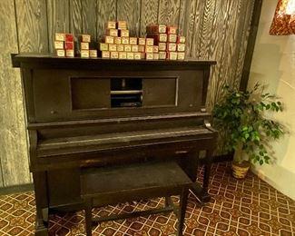 Piano rolls 5.00 each