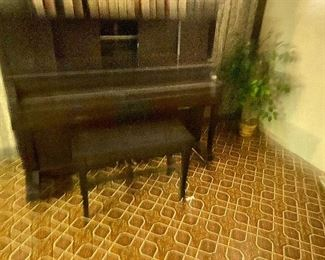 Player piano 75.00