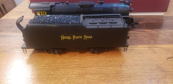 Right of Way Industries Engine and tender