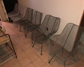 set of 6 Russell Woodard Scultra Vintage Set of Chairs