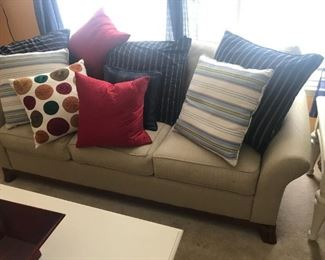 Sofa (Pillows sold seperately) $ 260.00