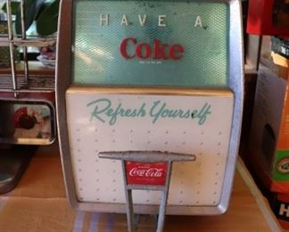Vintage Coca Cola Soda Dispenser