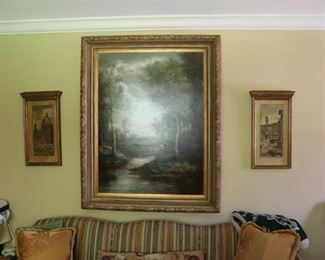 Signed Original Oil on Canvas by Artist L. Stephano