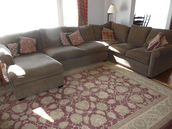 Sectional Sofa & Room Size Rug