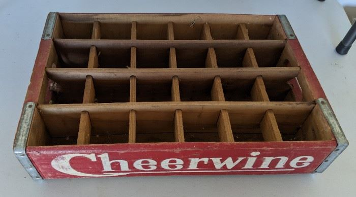 Cheerwine Bottle Crate