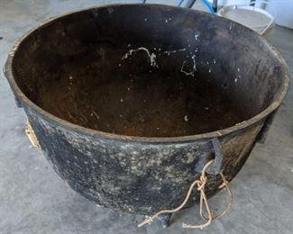 Cast Iron Large Cauldron