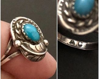 Native American Sterling Ring