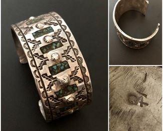 Native American Sterling Bracelet