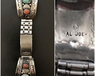 Native American Sterling Watch Tips