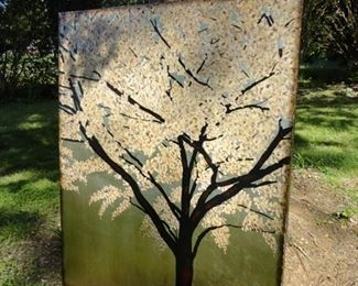 Hand Painted Very Large Canvas