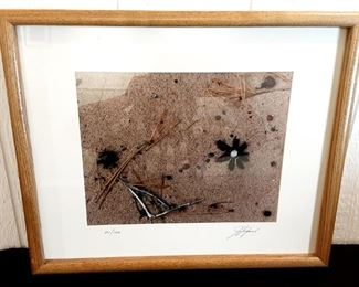 "Lot #	6 James Simak ""Sand"" Photographic Print Description:	 Approx.18"" X 24"", No. 1/100, Signed"