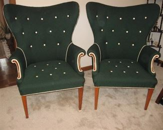 Two Matching Retro Chairs...