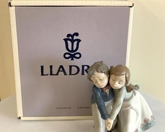 Lladro Figurine; Dancing Class - includes the box.