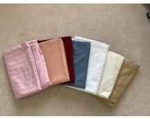 Assorted Linens Lot of Tablecloths in assorted sizes, Good Condition, mostly larger sizes