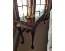 """Ethan Allen Cherry Sofa Table Great Condition, 27""""x 60""""x16"""", Lamp NOT included"""