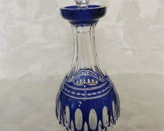 Waterford Clarendon Cobalt Decanter