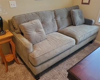 Tufted Square Back Sofa