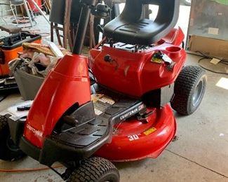 Craftsman R110 Riding Lawn Mower