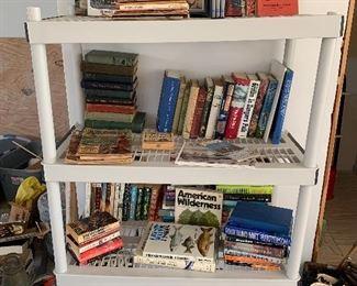 Books:  Novels, History, Hunting, Gun, War ...