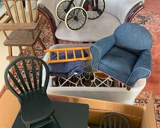VINTAGE Original American Doll Furniture