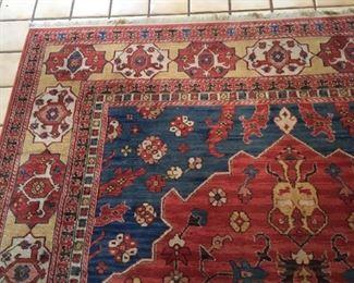 Karastan Williamsburg Turkish Church Rug. Pattern 553, 8.2 feet x 11.9 feet.