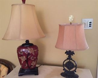 Many nice lamps!
