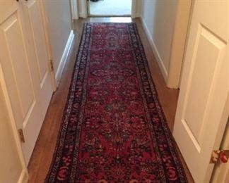 Hallway rug.
