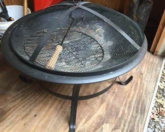 Small firepit.