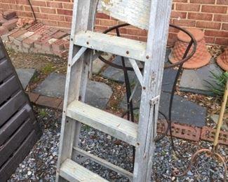 Small ladder.