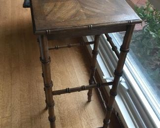 Small table.