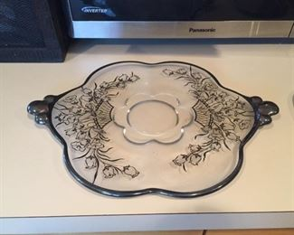 Anniversary plate.