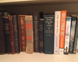 Small selection of books.