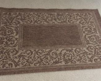 Small rug.