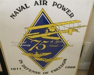 Naval Air Power poster.