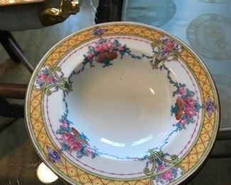 Set of Asian bowls.
