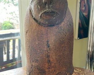 """The Grateful Dead"" ceramic sculpture"