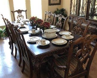 Lovely designer dining set for 8