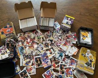 Baseball, hockey sports cards