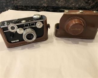 Argus Camera With Case