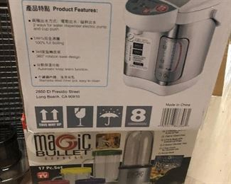 new magic bullet and hot water dispenser