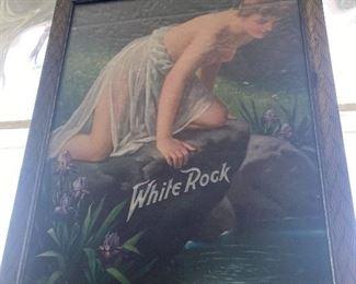 WHite ROck antique advertising