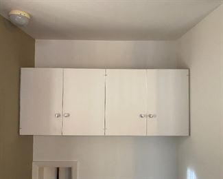 Laundry Room Above Washer/Dryer Cabinets $80