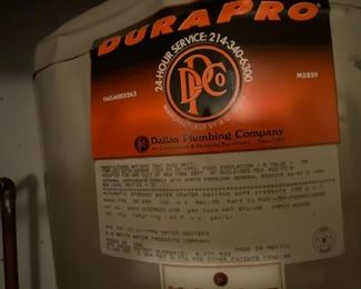 Gas Water Heater 50 gallon $100