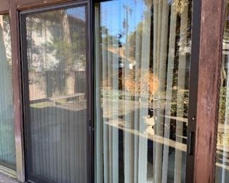 Arcadia 8'x8' Glass Sliding Door $1,750