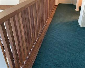 Mid Century Balcony Railing - $150