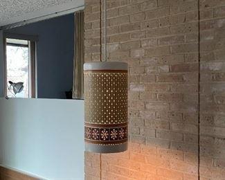 California Pierced Pottery Living Room Pendant $1,250