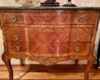 Antique French Marble Top Dresser - $950 - PreSale Available