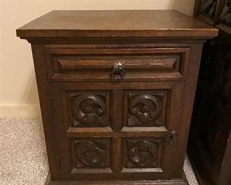 Bedside table $50