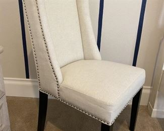 Upholstered Nailhead Side Chair