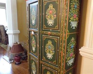 Wonderful painted cabinet